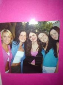 From left: Marissa, Una, Sarah, Maud and Aoife on their way into The Palace nightclub on Camden St with their fake IDs!